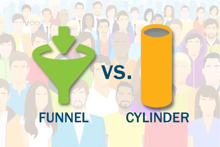 Marketing Funnel vs. Cylinder