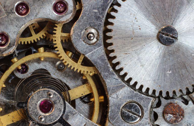 System that uses gears